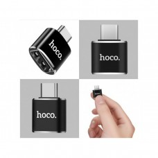 Переходник OTG Hoco UA5 Type-C - USB / 3.0A (Черный)