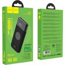 Внешний аккумулятор Power bank Hoco J63 PD / QC 3.0 / 18W / Беспроводная зарядка / 10000mAh (Черный)