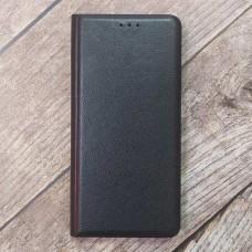 Чехол-книжка Retro Wallet для XiaoMi Redmi Note 10 Pro на магните + отсек для кредитной карты (Черный)