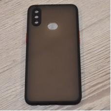 Чехол TOTU c защитным выступом для камеры для Samsung Galaxy A10s / A107 (Черный)