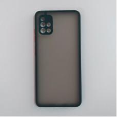 Чехол TOTU c защитным выступом для камеры для Samsung Galaxy A51 / A515 (Зеленый)