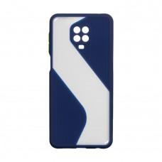Чехол TOTU Wave для XiaoMi Redmi Note 9 Pro / Note 9s (Синий)