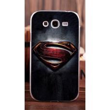 Чехол-бампер для Samsung Galaxy Grand I9082 (Супермен)
