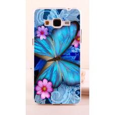 Чехол-бампер для Samsung Galaxy Grand Prime G530 (Яркая бабочка)