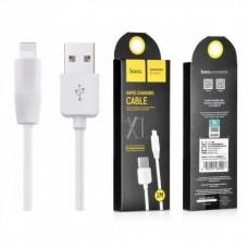 Кабель Hoco X1 Rapid USB - Lightning iPhone, 1м (Белый)