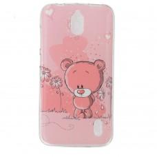 Чехол-бампер для Huawei Y625 (Мишка)