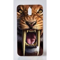 Чехол-бампер для Huawei Y625 (Тигр)