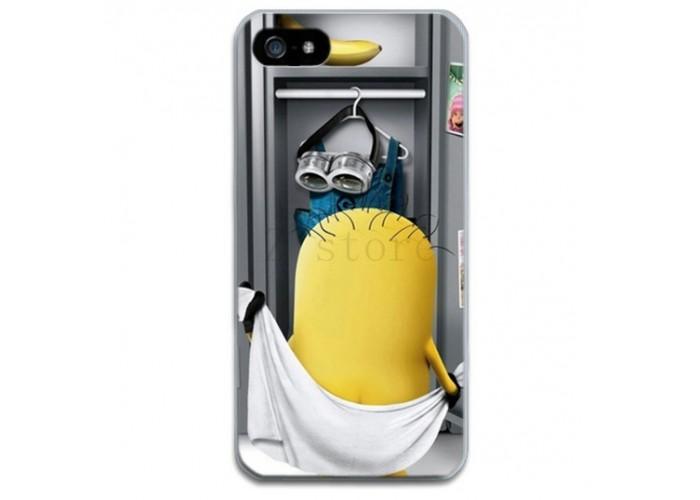 Чехол-бампер для iPhone 4/4S (Миньон)