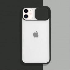 Чехол Camshield Matte Case (Черный) со шторкой для камеры для iPhone 11