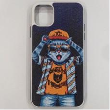 Чехол Кот для iPhone 11