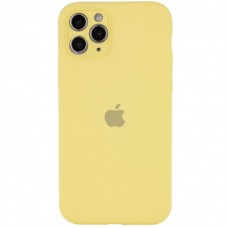 Чехол Apple Silicone Case Full Camera (Mellow Yellow) для iPhone 11 Pro