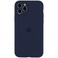 Чехол Apple Silicone Case Full Camera (Midnight Blue) для iPhone 11 Pro