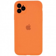 Чехол Apple Silicone Case Full Camera (Orange) для iPhone 11 Pro