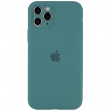 Чехол Apple Silicone Case Full Camera (Pine Green) для iPhone 11 Pro