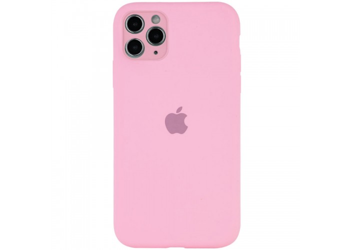 Чехол Apple Silicone Case Full Camera (Pink) для iPhone 11 Pro