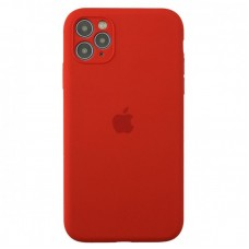 Чехол Apple Silicone Case Full Camera (Red) для iPhone 11 Pro