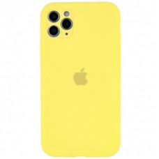 Чехол Apple Silicone Case Full Camera (Yellow) для iPhone 11 Pro
