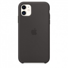 Чехол Apple Silicone Case (Black) для iPhone 11