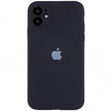 Чехол Apple Silicone Case Full Camera (Black) для iPhone 11