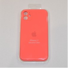 Чехол Apple Silicone Case Full Camera (Coral) для iPhone 11