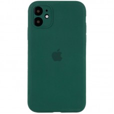 Чехол Apple Silicone Case Full Camera (Forest Green) для iPhone 11