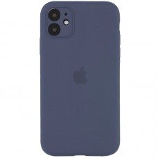 Чехол Apple Silicone Case Full Camera (Lavander Gray) для iPhone 11