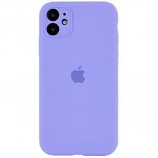 Чехол Apple Silicone Case Full Camera (Lilac) для iPhone 11