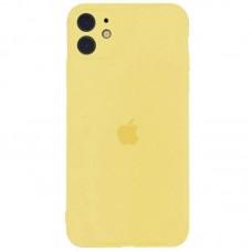 Чехол Apple Silicone Case Full Camera (Mellow Yellow) для iPhone 11