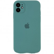 Чехол Apple Silicone Case Full Camera (Pine Green) для iPhone 11
