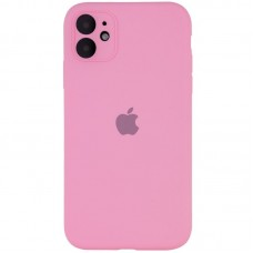 Чехол Apple Silicone Case Full Camera (Pink) для iPhone 11
