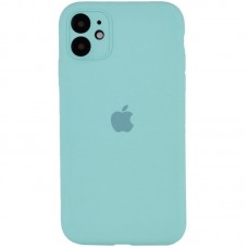 Чехол Apple Silicone Case Full Camera (Sea Blue) для iPhone 11