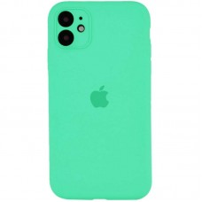 Чехол Apple Silicone Case Full Camera (Spearmint) для iPhone 11