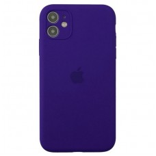 Чехол Apple Silicone Case Full Camera (Ultra Violet) для iPhone 11