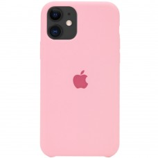 Чехол Apple Silicone Case (Light Pink) для iPhone 11