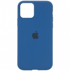 Чехол Apple Silicone Case Full (Blue Cobalt) для iPhone 12/12 Pro