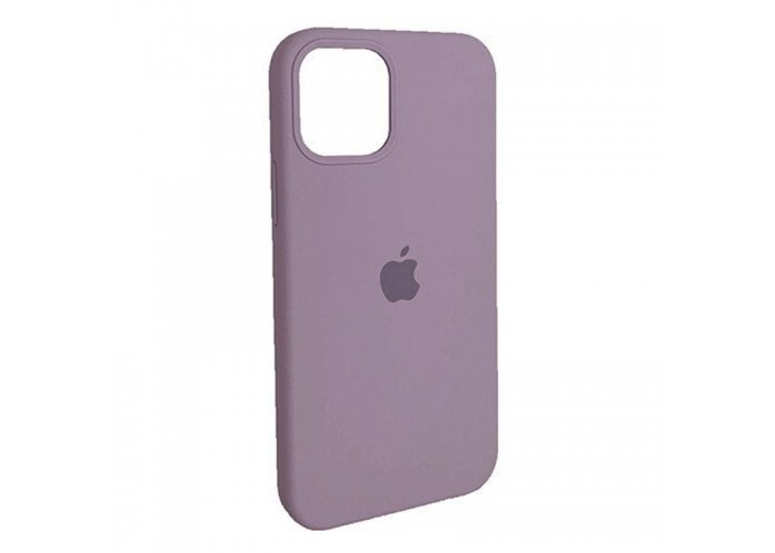 Чехол Apple Silicone Case Full (Blueberry) для iPhone 12/12 Pro