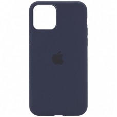 Чехол Apple Silicone Case Full (Midnight Blue) для iPhone 12/12 Pro