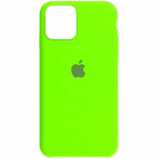 Чехол Apple Silicone Case Full (Party Green) для iPhone 12/12 Pro