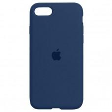 Чехол Apple Silicone Case Full (Blue Cobalt) для iPhone 7/8/SE 2020