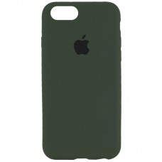 Чехол Apple Silicone Case Full (Forest Green) для iPhone 7/8/SE 2020