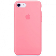Чехол Apple Silicone Case (Hot Pink) для iPhone 7/8/SE 2020