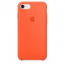 Чехол Apple Silicone Case (Orange) для iPhone 7/8/SE 2020