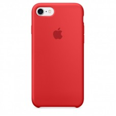 Чехол Apple Silicone Case (Red) для iPhone 7/8/SE 2020