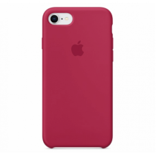 Чехол Apple Silicone Case (Rose Red) для iPhone 7/8/SE 2020