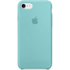 Чехол Apple Silicone Case (Sea Blue) для iPhone 7/8/SE 2020