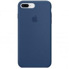 Чехол Apple Silicone Case Full (Blue Cobalt) для iPhone 7 Plus/8 Plus