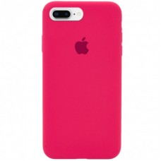 Чехол Apple Silicone Case (Hot Pink) для iPhone 7 Plus/8 Plus
