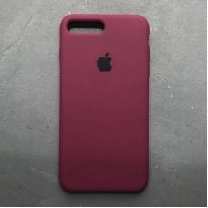 Чехол Apple Silicone Case (Marsala) для iPhone 7 Plus/8 Plus