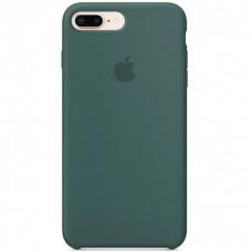 Чехол Apple Silicone Case (Pine Green) для iPhone 7 Plus/8 Plus