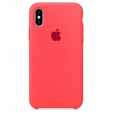 Чехол Apple Silicone Case (Coral) для iPhone X/XS